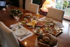 Breakfast at Villa Hosta